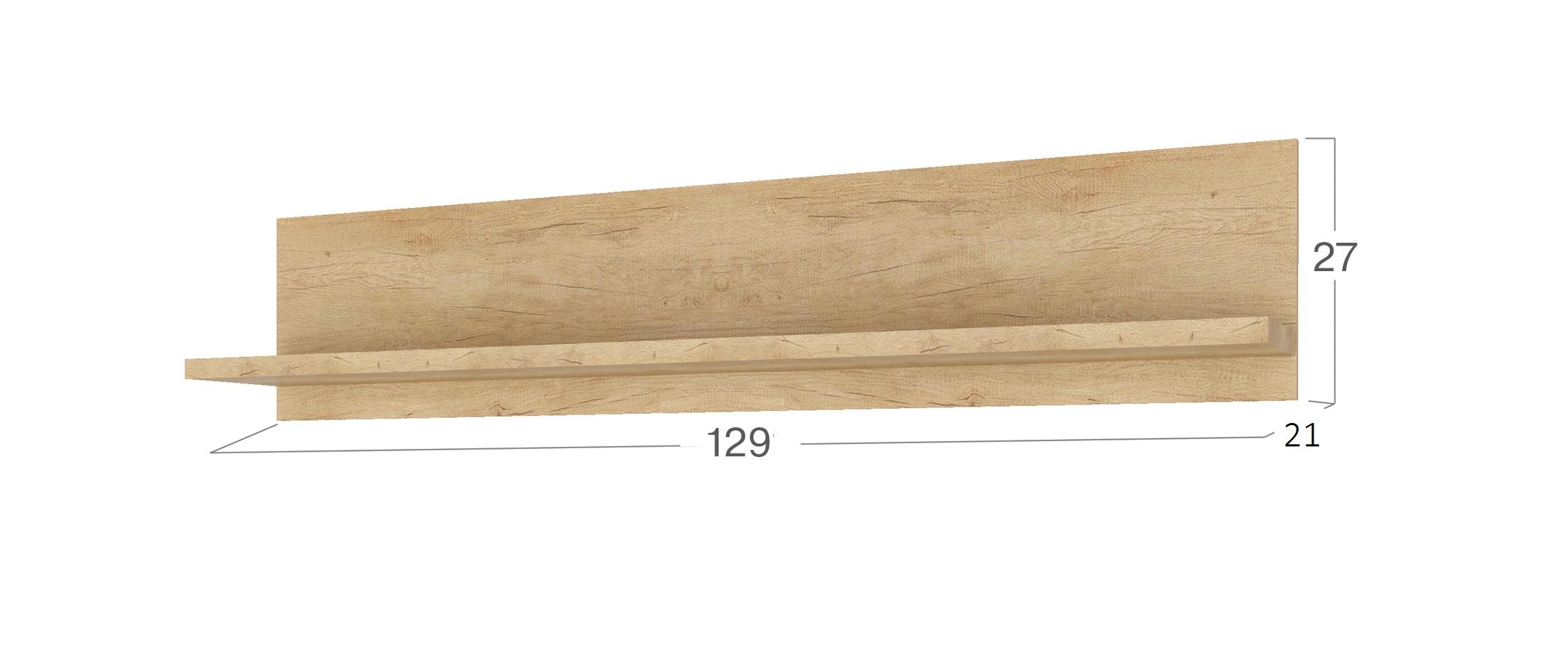 Полка навесная Мадейра Модель 291